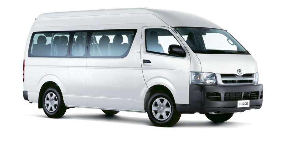 13 seater Luxury bus for rental