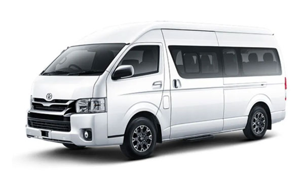 14 Seater Hiace for rent